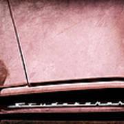 1953 Studebaker Coupe Grille Emblem Poster