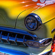 1954 Chevy Bel Air Custom Hot Rod Poster