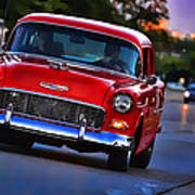 1955 Chevy Bel Air Poster