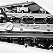 1955 Jaguar Engine Poster