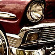 1956 Chevy Bel Air Poster by David Patterson