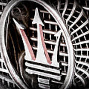 1957 Maserati Grille Emblem Poster