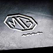 1959 Mg A 1600 Roadster Emblem Poster