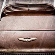 1961 Aston Martin Db4 Coupe Emblem Poster