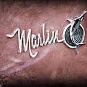 1965 Rambler Marlin Emblem Poster