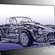 1965 Shelby Ac Cobra Poster