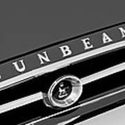 1965 Sunbeam Tiger Grille Emblem Poster