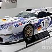 1998 Porsche 911 Gt1 Poster