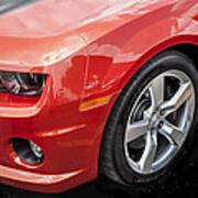 2012 Chevy Camaro Ss  Poster