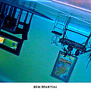 4th Martini Poster by Lorenzo Laiken