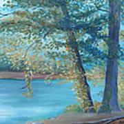 A Good Fishing Day Poster by Glenda Barrett