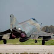 A Hellenic Air Force F-4e Phantom Poster