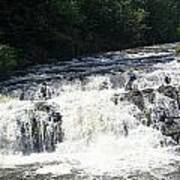A Lovely View Of A Falls On Kayaderosseras Creek Poster