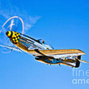 A North American P-51d Mustang Poster