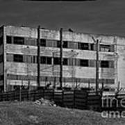 Abandoned Factory At Vadu Poster by Gabriela Insuratelu