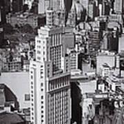 Aerial View Of Sao Paulo Poster by Ricardo Lisboa