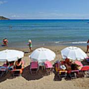 Agia Marina Beach Poster