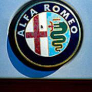 Alfa Romeo Emblem Poster