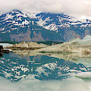 Alsek Lake Poster