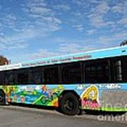 Ameren Missouri And Missouri Botanical Garden Metro Bus Poster