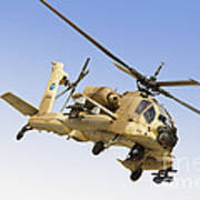 An Ah-64a Peten Attack Helicopter Poster