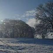 An Irish Winter Scene Poster