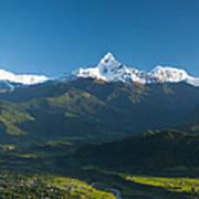 Annapurna Peak - Nepal Poster
