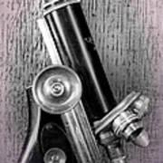 Antique Microscope Poster