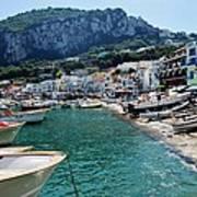 Arrival To Capri  Poster