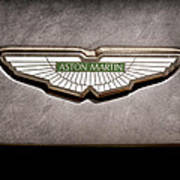 Aston Martin Emblem Poster