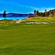 #2 At Chambers Bay Golf Course - Location Of The 2015 U.s. Open Championship Poster by David Patterson