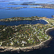 Bailey And Orrs Islands, Harpswell Poster