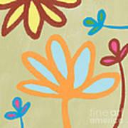 Bali Garden Poster by Linda Woods