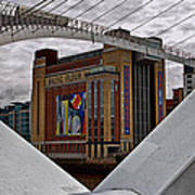 Baltic And Gateshead Millennium Bridge Poster