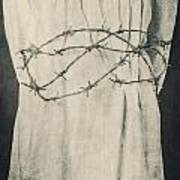 Barbed Wire Poster by Joana Kruse