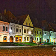 Bardejov At Night Poster