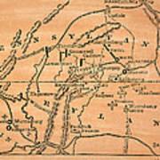 Battle Of Gettysburg, 1863 Poster