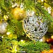 Bauble In A Christmas Tree  Poster