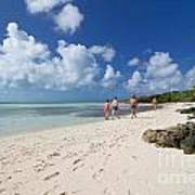 Beach At Coco Cay Poster