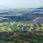 Beit Netofa Valley, Galilee Poster
