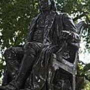 Benjamin Franklin Statue University Of Pennsylvania Poster