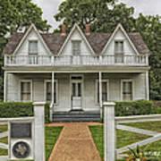 Birth Home Of Dwight D Eisenhower - Denison Texas Poster