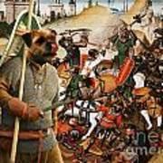 Border Terrier Art Canvas Print  Poster