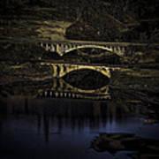 2 Bridges At Dusk Poster