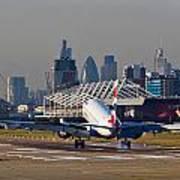 British Airways London Poster