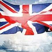 British Flag 3 Poster