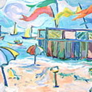 Buckroe Beach - En Plein Air Poster