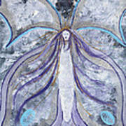 Butterfly Goddess Poster