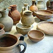 Byzantine Pottery Poster