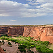 Canyon De Chelly From Sliding House Overlook Poster
